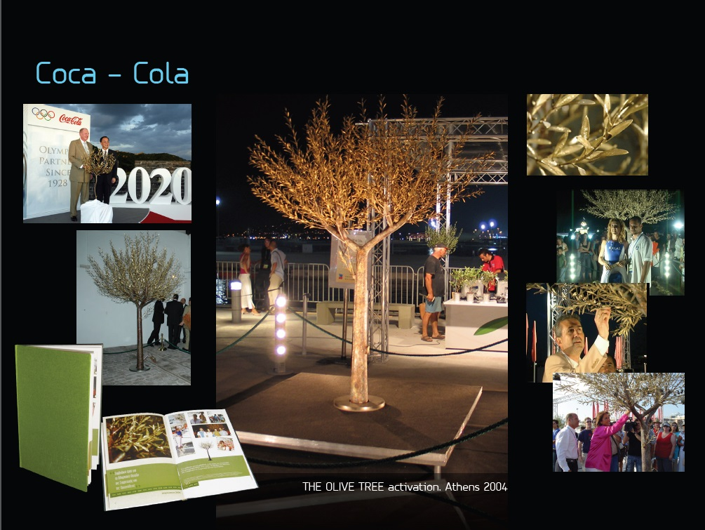 Coca Cola Hellas: Olive Tree, The Tree of Athens